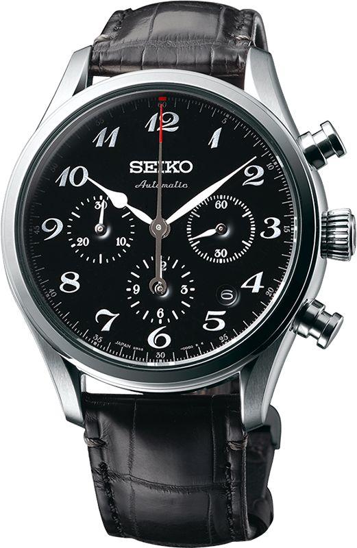 Seiko Watch Presage 60th Anniversary Mechanical Chronograph