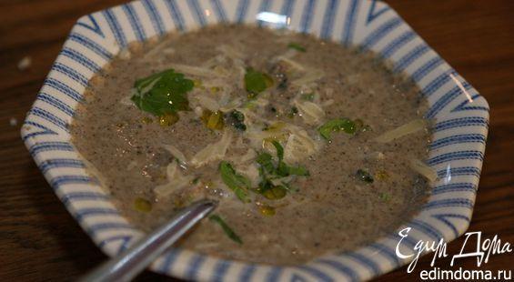 Для этого супа подойдут шиитаке, вешенки, портобелло, шампиньоны, твердый сыр тоже берите тот, что вам нравится!