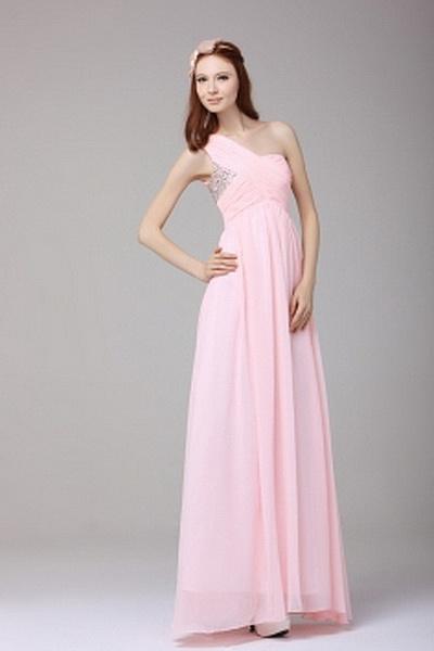 Ein-Schulter-A-Line Chiffon Formale Kleider ba2322 - http://www.brautmode-abendkleid.de/ein-schulter-a-line-chiffon-formale-kleider-ba2322.html - Ausschnitt: Eine Schulter. Stoff: Chiffon. Ärmel: Ärmellos. Farbe: Pink. Silhouette: A-Line. - 206.59