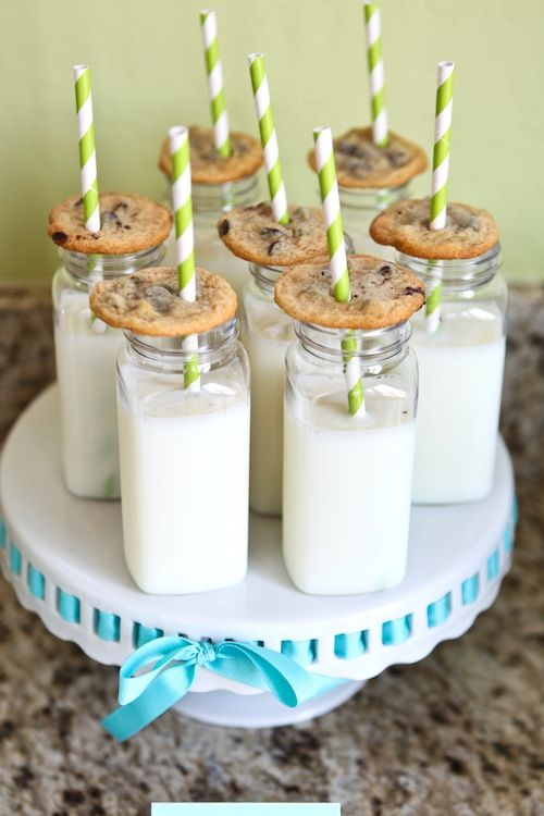 Milk & Cookies - #PartyDecor