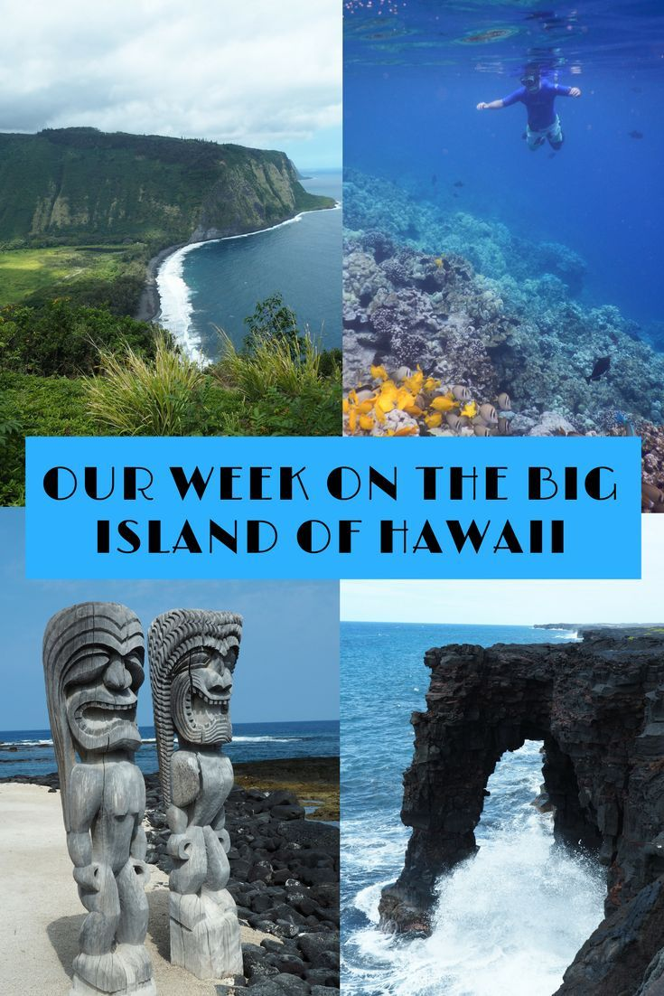 With active volcanos, fantastic snorkelling, lush rainforest, flowing waterfalls, the Big Island of Hawaii has so much to offer. So make sure you give the Big Island a try on your next Hawaiian trip.: