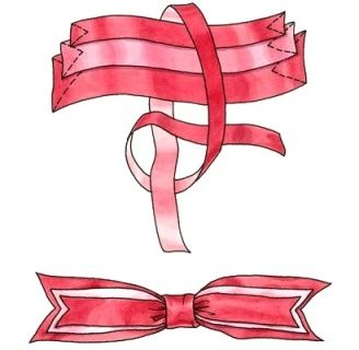 How to tie a beautiful bow. Classic bow of St. George ribbon. Bows for gifts and decorations