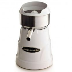Information about the C-10W citrus juicer. I like it partially because it looks like a robot from an old school sci-fi movie.