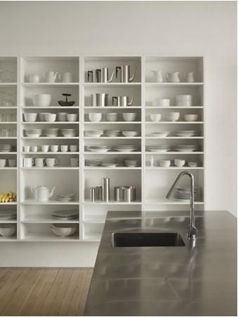 Shelves -- Hoeber loft in Philadelphia by QB3 Design