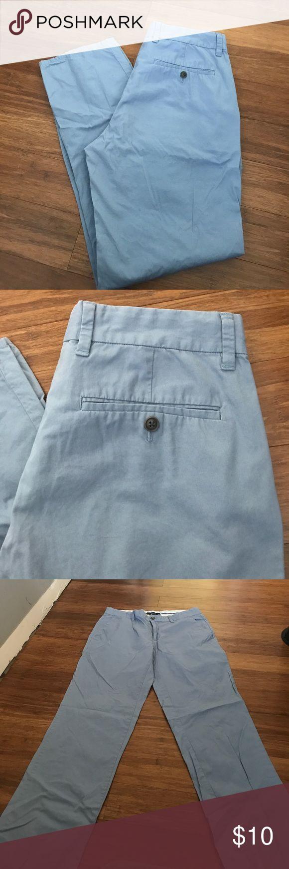 Men's Khaki pants Black Saks fifth Avenue slacks. Good Condition. Light blue color BLACK Saks Fifth Avenue Pants Chinos & Khakis