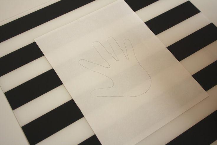 Paper Strip Handprint Art {& Keepsake} | Mama. Papa. Bubba.