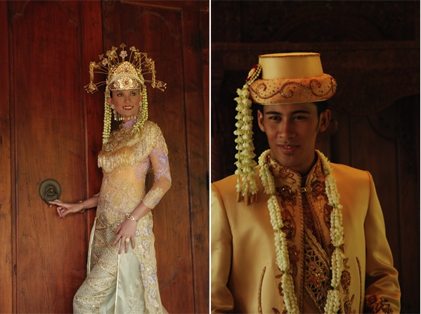 Betawi (Jakartan) traditional wedding costume