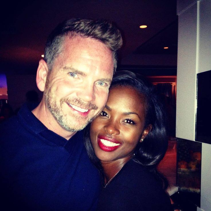 "smartinfoposts: ""The cutest Interracial couple ever!!! Love them! "" ☆WLI☆@CBL♡♡"