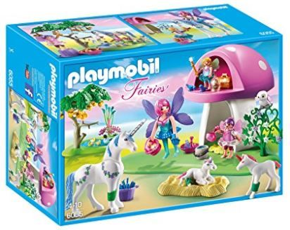 PLAYMOBIL Fairies with Toadstool House Only $14.84 (Reg. $25)! Lowest Price!