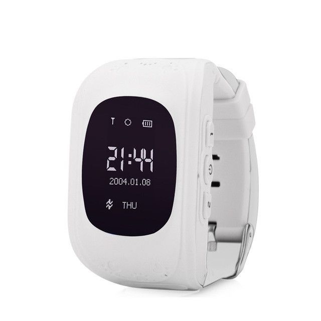 OLED Smart Phone Kid Safe GPS Watch Wristwatch SOS Call Location Finder Locator Tracker for Children Baby Anti Lost Monitor Q50