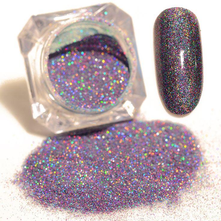 1 box 1,5g born pretty starry nagel power 9 farben holographische laser nagel glitters staub maniküre nail art glitter dekorationen