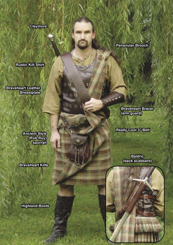 lets break it down shall we . . . Braveheart Stuff, Braveheart Kilts, Braveheart Accessories, Braveheart Armor