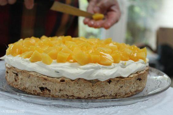 Mango Mostachon Cake | A Mexican Cook