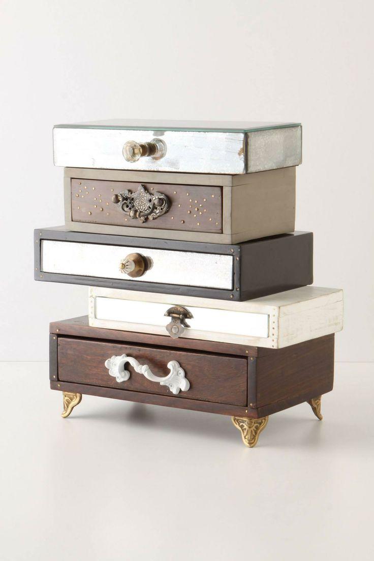 Anthropologie  Topsy-Turvy Jewelry Box