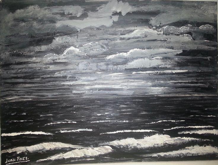 """""""Mar negro"""", Nicolás Guillén"""