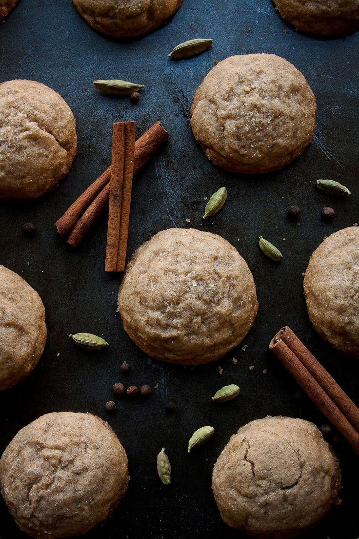 Maple Chai Cookies | Hint of Vanilla
