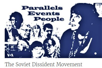 RUUSIA - Parallels, Events, People is a VOA documentary series on the Soviet dissident movement. It was produced with support from the Andrei Sakharov Foundation and the Oak Foundation. The series is available in Russian here.
