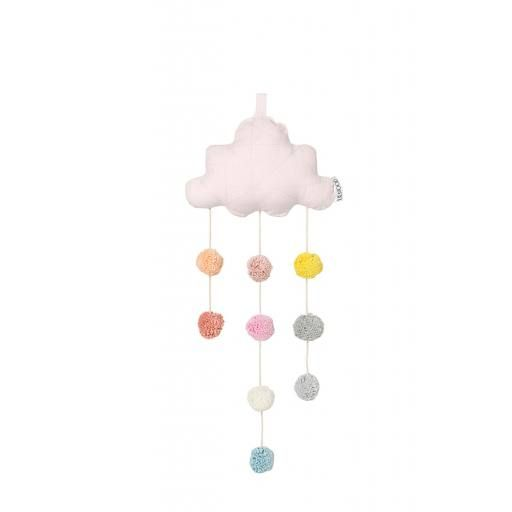 "Liewood - Clara Cloud Mobile ""Solid sweet rose"""