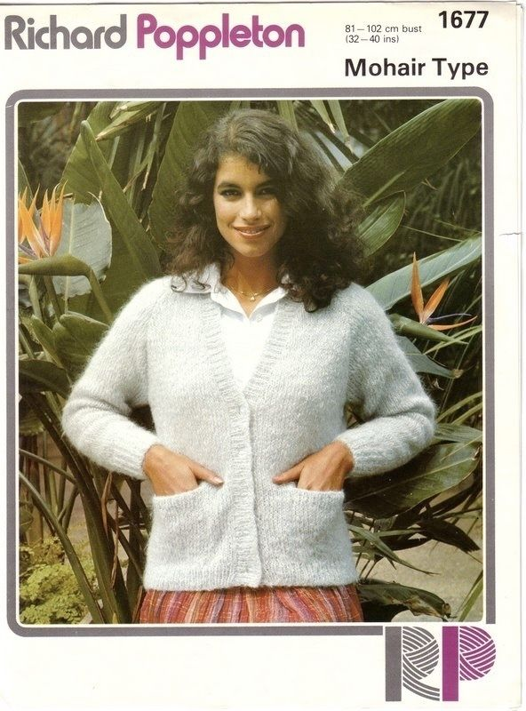 cdd5af911 Vintage Hand Knitting Pattern 1677  from Richard Poppleton