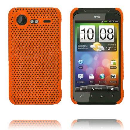 Atomic (Oranssi) HTC Incredible S Suojakuori
