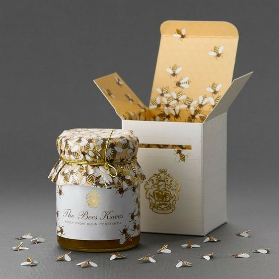 bee and honey packaging