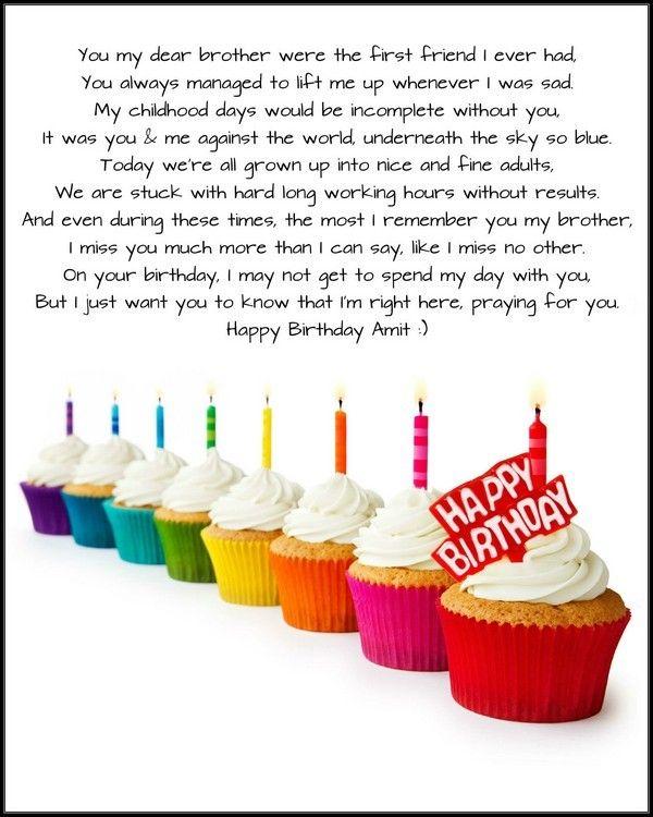 52 Best Happy Birthday Poems Images On Pinterest