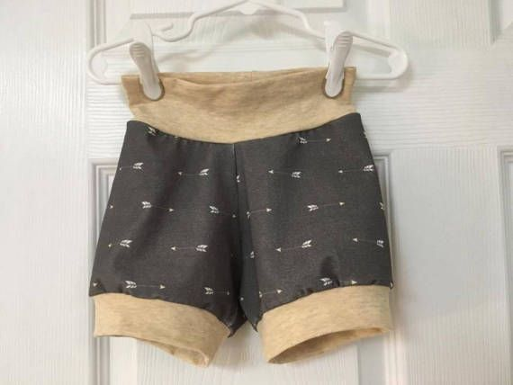 Gender Neutral Kids Shorts Baby 12-18 Months Shorts Rustic