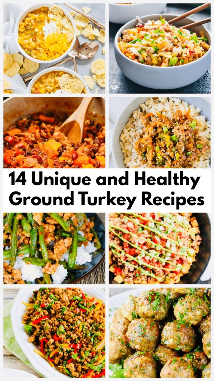 14 Unique and Healthy Ground Turkey Recipes My Best Home