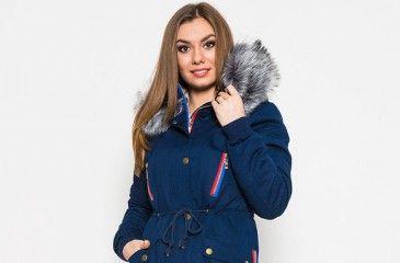 Парка женская зимняя с мехом. Цены на зимние куртки-парки