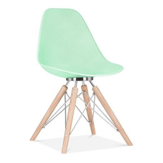 Cult Design Chaise de salle à manger Moda CD3 - Vert Pastel