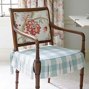 Stunning Flea Market Bedroom Makeover   Chair Change   SouthernLiving.com
