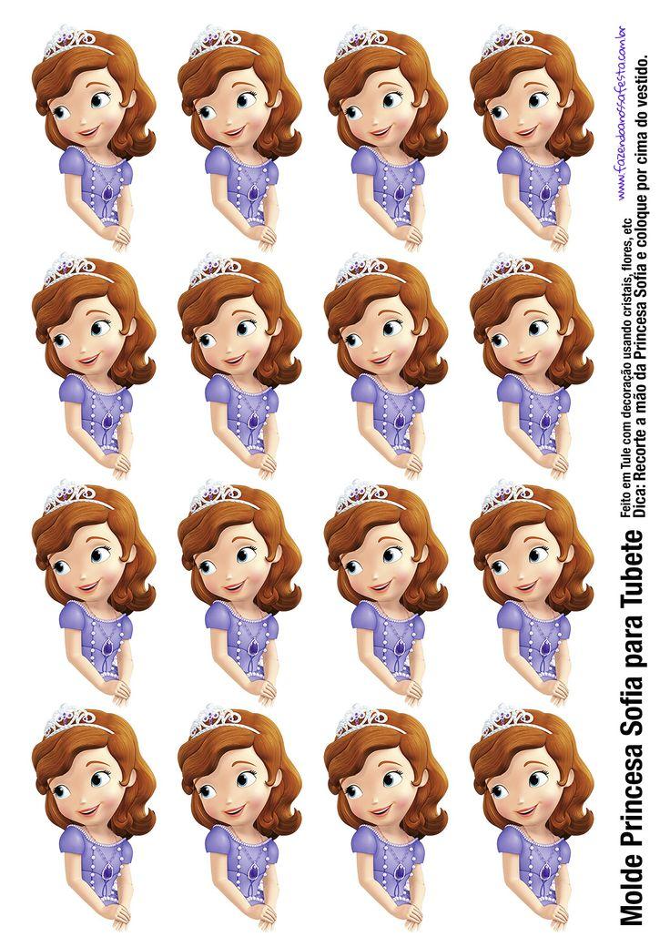 bustos princesas para tubetes gratis - Pesquisa Google