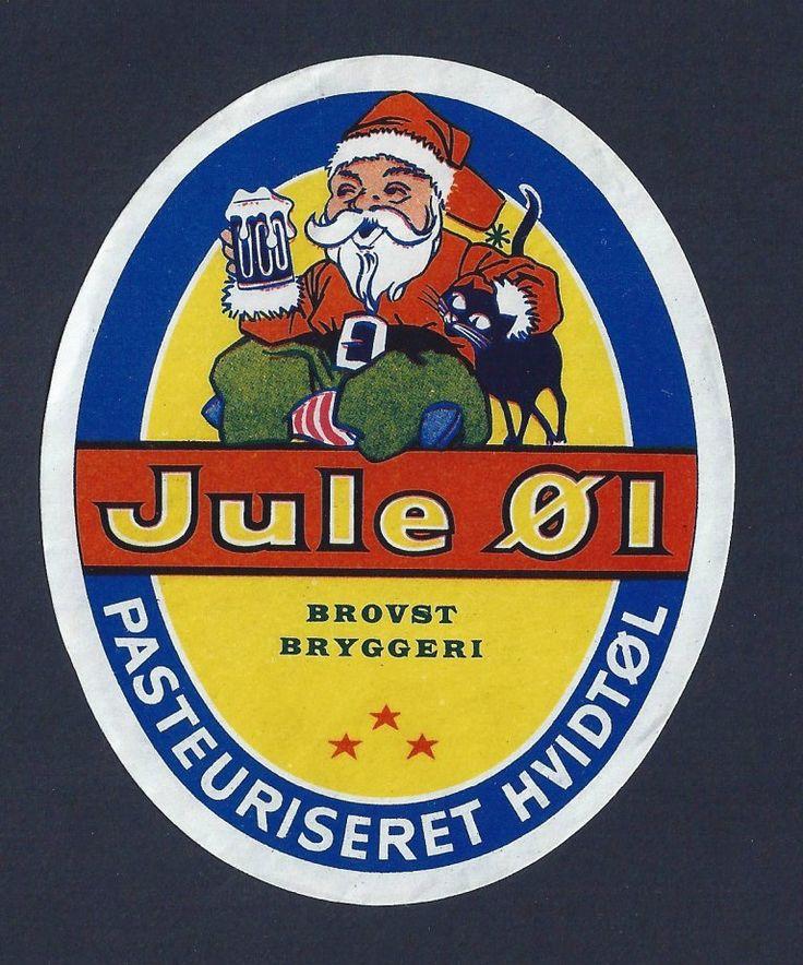 "Nisseøl fra Brovst Bryggeri. Bryggeriet blev grundlagt i 1896 og lukkede i 1979. Fra 1944 drevet  3. generation; ""Bryggeren"", Agner Mortensen 1914-2010. Se om han i Han Herredbogen 2005, s. 13ff."