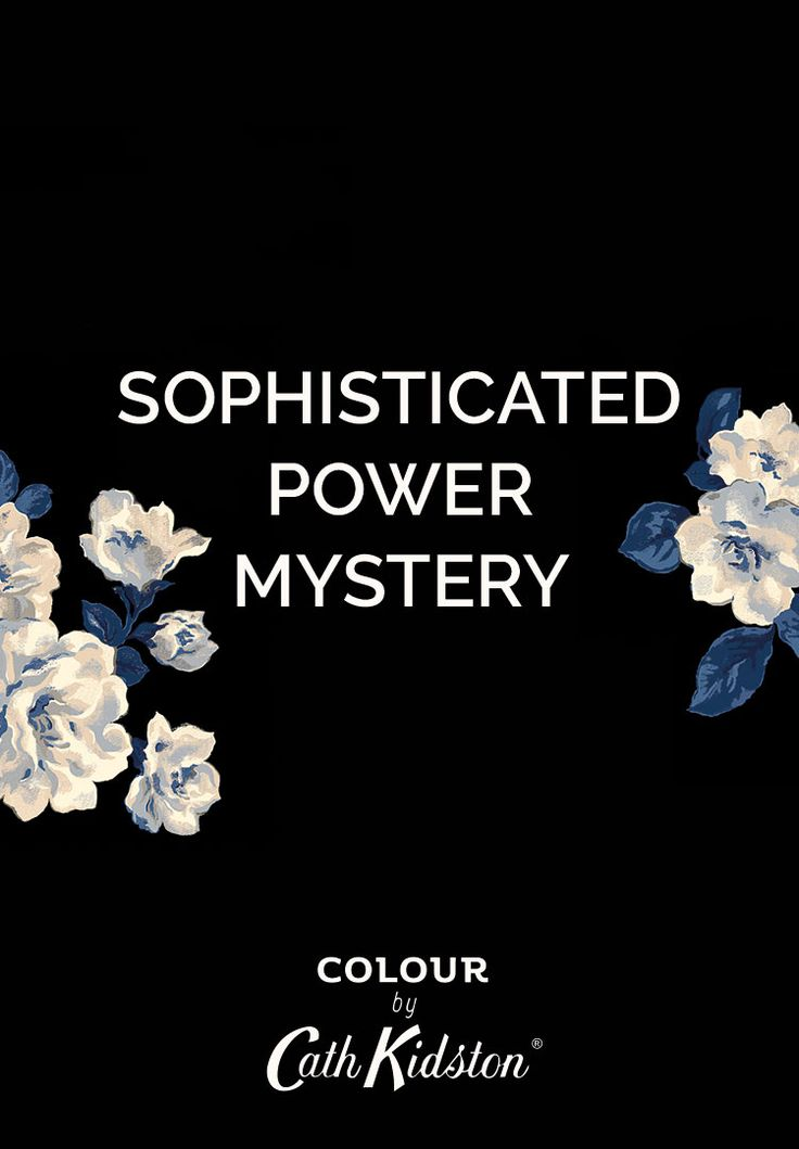 What does the colour Little Black Number mean? Sophistication, power and mystery.