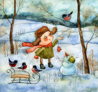 Зима (Виктория Кирдий)