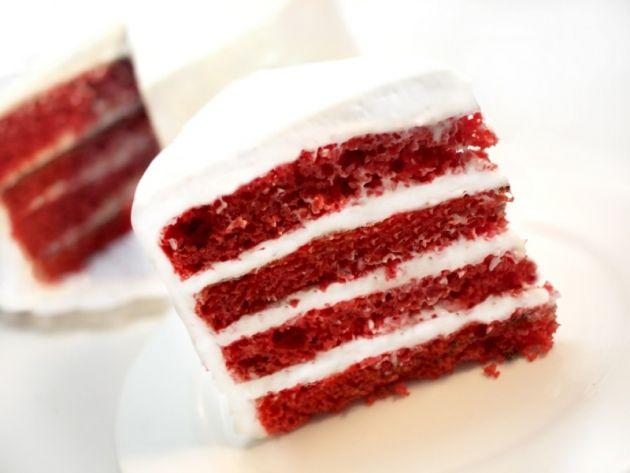 Tarta Red Velvet baja en calorías - Pecados de Reposteria