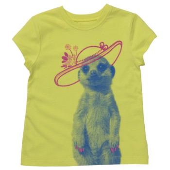 MEERKAT! graphic t-shirt girls  FUNNY