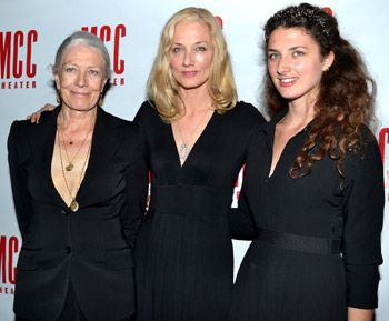 Vanessa Redgrave, with daughter Joely Richardson and ...