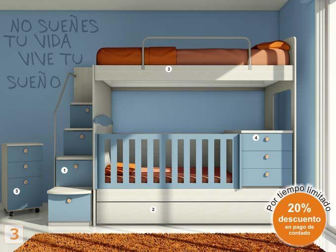 Meer dan 1000 idee n over muebles para bebe op pinterest - Muebles para bebes ...