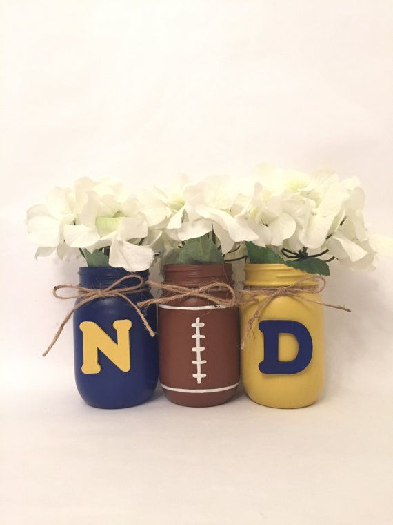 Hey, I found this really awesome Etsy listing at https://www.etsy.com/listing/480010023/university-of-notre-dame-mason-jars