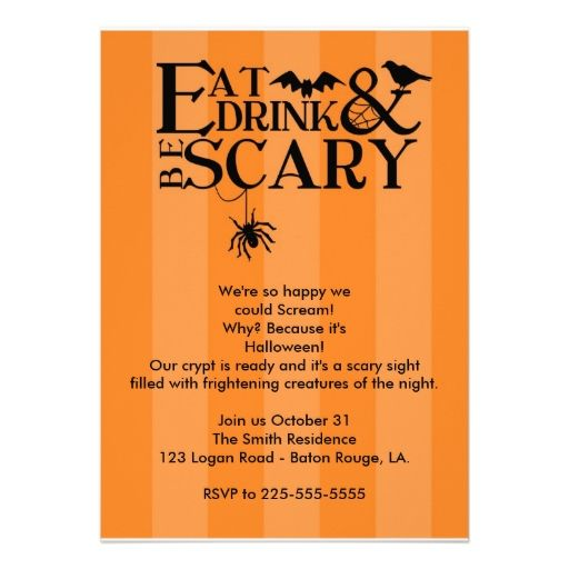 Best Halloween Chic Invitations Images On   Halloween