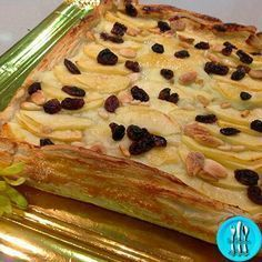 Tarta hojaldrada de manzana Pinterest ;) | https://pinterest.com/cocinadosiempre/