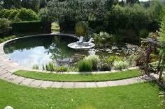 Swimming pond...