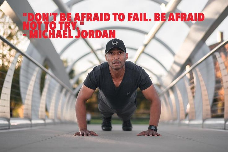 """""""Don't be afraid to fail. Be afraid not to try.""""  Michael Jordan #inpirationalquotes #motivationalquotes #quotesdaily #quotesoftheday #quotestoliveby #quotes #dcinhometrainer #personaltrainer #plantbased #onlinefitnesscoach"""