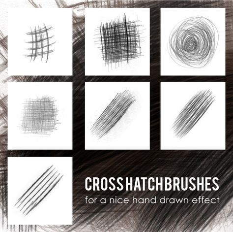 cross hatch brushes by lemosart.deviantart.com on @DeviantArt