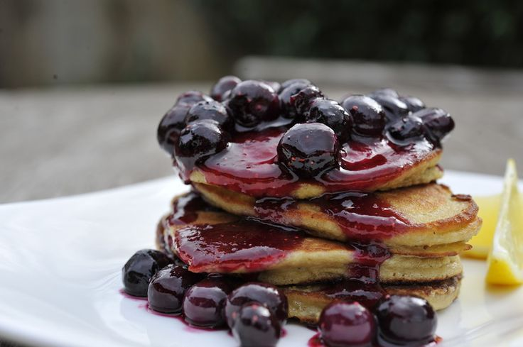 Thermomix Christchurch Paleo Pancakes with Berry Compote