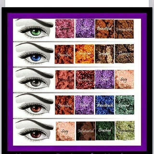 Younique pigment powders. On sale now for $59 with a free applicator brush! Save $34!!!