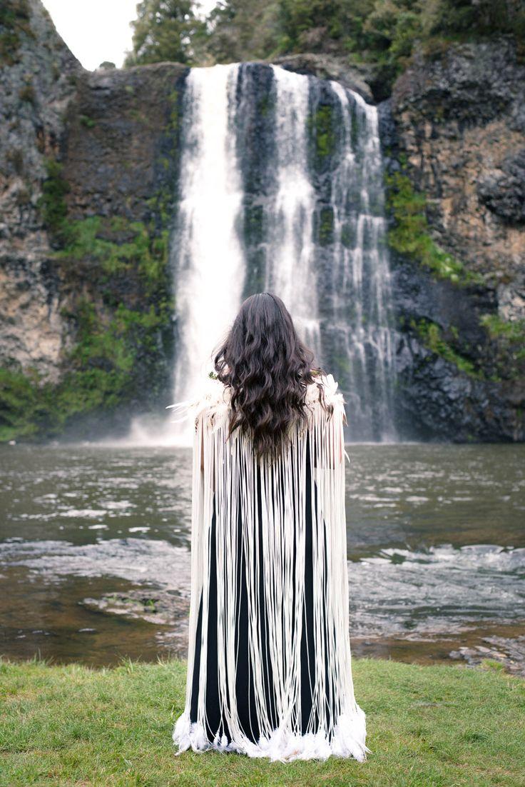 WeaveRdream gallery showcasing Korowai (Maori Cloak) for weddings and other…