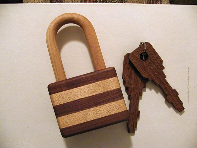 25 Best Images About Wooden Locks On Pinterest