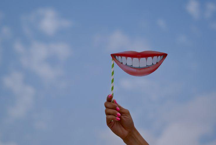 Con una sonrisa siempre es mejor. Fotografía. Creatividad.